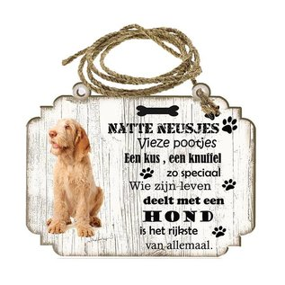 Hondenbordje: Spinone Italiano