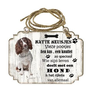 Hondenbordje:    Engelse Springer Spaniel