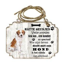 Hondenbordje:   kooikerhondje
