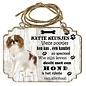 Hondenbordje: Japanse Spaniel