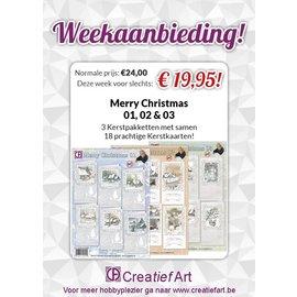 Weekaanbieding Merry Christmas 01, 02 & 03