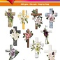 Hearty Crafts 3D-Topper Condolence Crosses