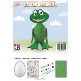 Creatief Art Kikker - Little Friends