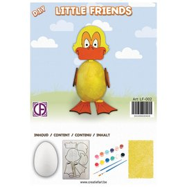 Creatief Art Eend - Little Friends