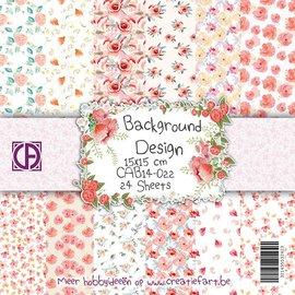 Creatief Art Background Design 22 - Rozen