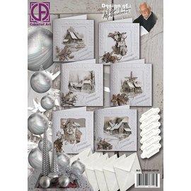 Creatief Art Pakket Kerst Sepia Staf Wesenbeek