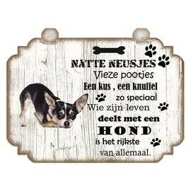 Hondenbordje: Chihuahua