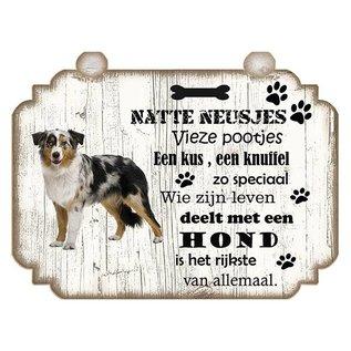Hondenbordje: Bulldog - Copy - Copy