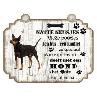 Hondenbordje: Dwergpinscher
