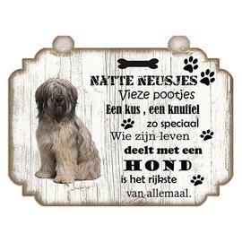 Hondenbordje: Bobtail
