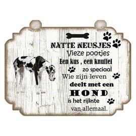 Hondenbordje: Duitse Dog