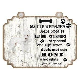 Hondenbordje: Poedel