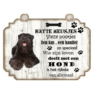 Hondenbordje: Bouvier