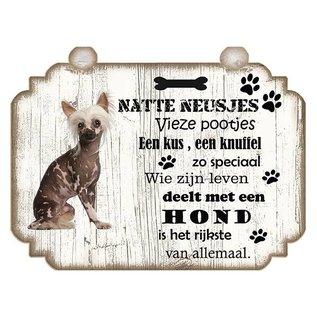 Hondenbordje: Naakthond