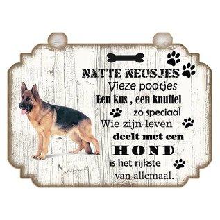 Hondenbordje: Duitse Herder