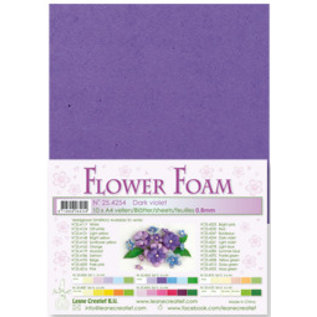 Dark Violet Flower Foam