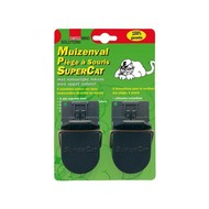 Swissino SuperCat muizenval 2st/blister