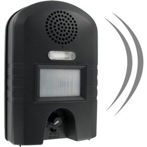 Weitech Dierenverjager Ultrasoon + Flash Light WK0052