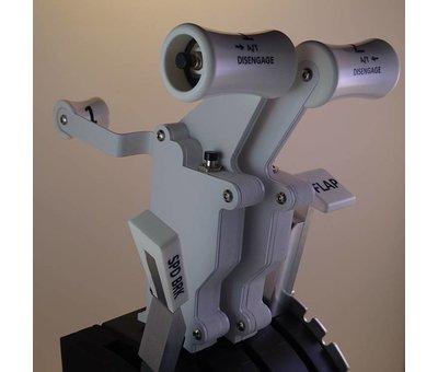 FS Modifications Saitek Throttle Quadrant modification