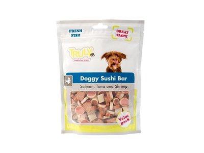 Truly Sushi Bar Hondensnack met Omega3 - Doggy Sushi Bar (400 gram)