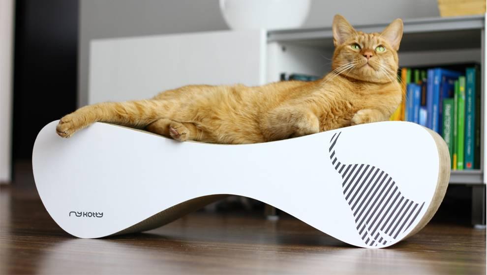 Design Voor Katten : Design alternatief voor krabpaal trendy krabmeubel voor kat
