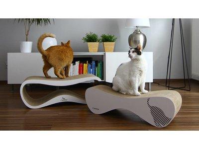 Design Krabmeubel (Wit en Zwart)