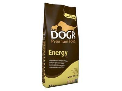 DOGR Energy Premium Hondenvoeding voor Volwassen Honden met veel Energie