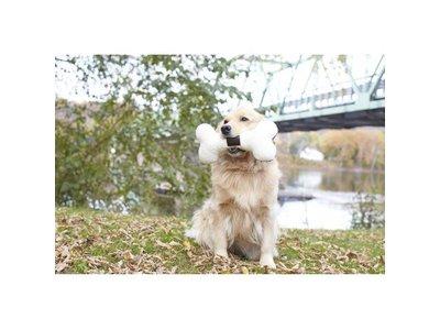 Tall Tails Honden Speelbot van Pluche met Pieper