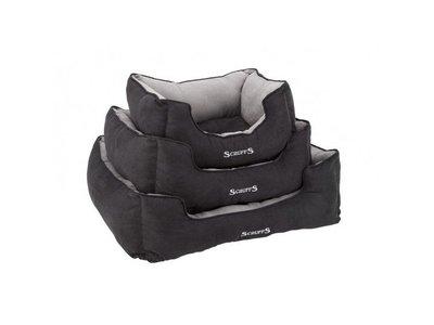 Scruffs Hondenmand Extra Comfortabel in Grijs &  Zwart