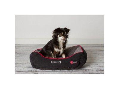 Scruffs Warme Hondenmand voor Koude Dagen in Grijs en Bruin