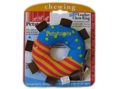Petstages Rond Kauwspeeltje voor Honden met Leer