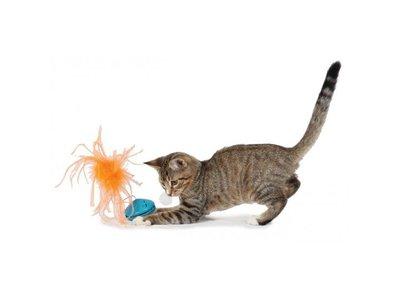 Petstages Kattenspeelgoed voor Brokjes met Veer