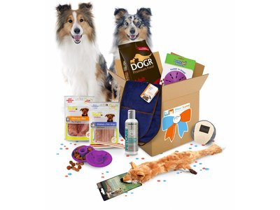 Max Happy GiftBox Luxe, het leukste cadeau voor Honden