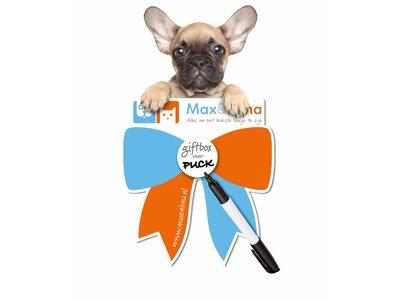 Max Happy GiftBox, het leukste cadeau voor Puppies