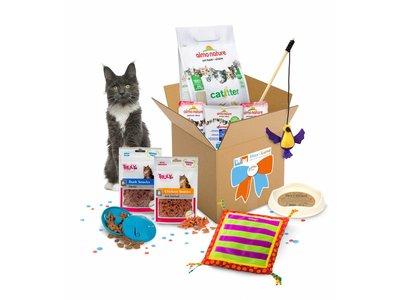 Luna's Happy GiftBox, het leukste cadeau voor Katten