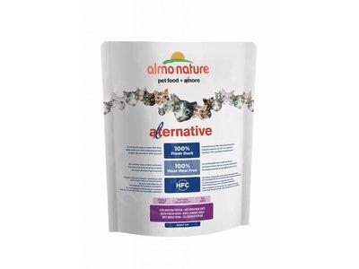 Almo Nature Alternative Droogvoeding voor Katten Eend & Rijst