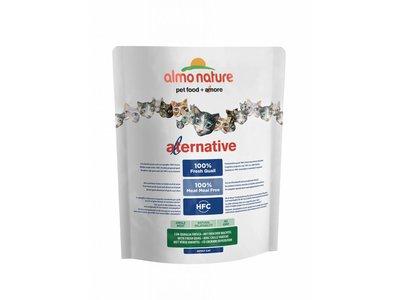 Almo Nature Alternative Droogvoeding voor Katten Kwartel & Rijst