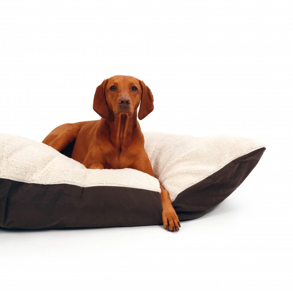 Zacht Hondenkussen met Afneembare Hoes