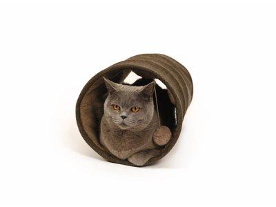Zachte Design Kattentunnel met Speeltje