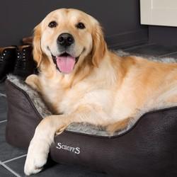 Warme Hondenmand met Imitatie Bont
