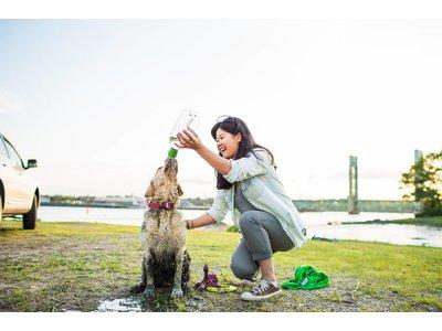 Mud Dog Reisdouche voor Honden
