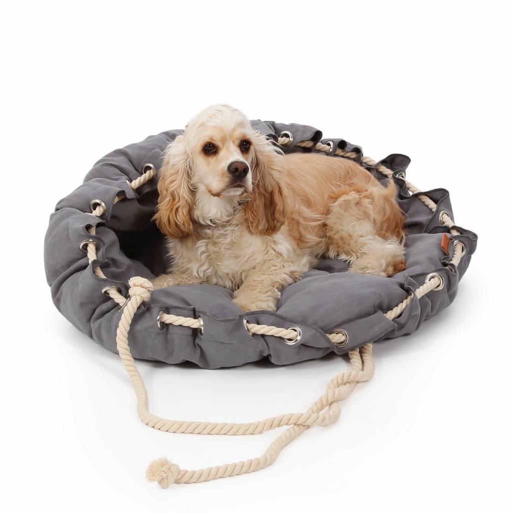 Rond Loungebed voor Honden in 3 Kleuren