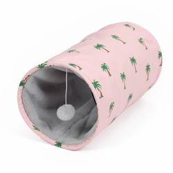 Speeltunnel voor Katten 'Palm Trees'