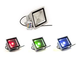 Outdoor LED Floodlight With Color