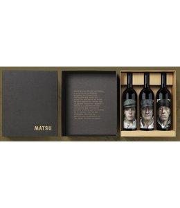 Matsu Matsu Doos 3 flessen - leeg