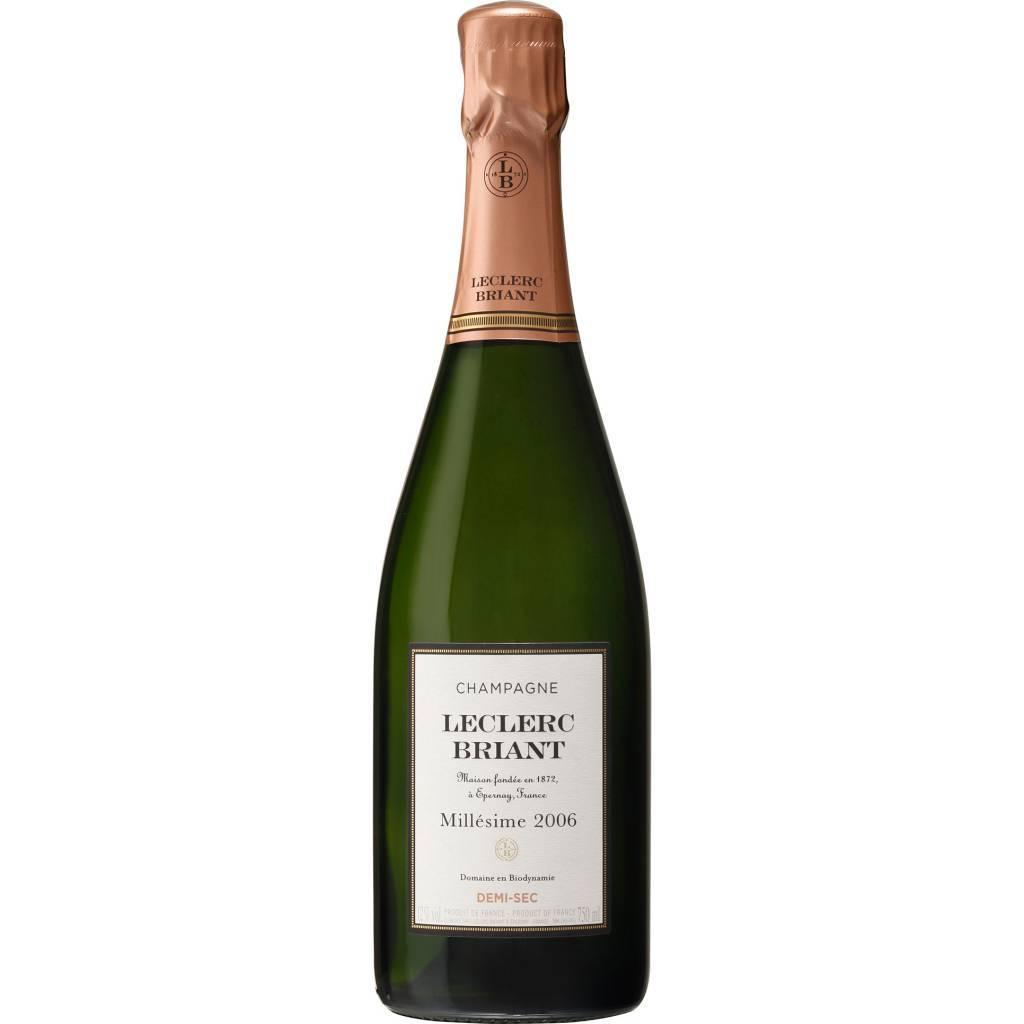 Leclerc Briant Champagne Demi Sec 2006