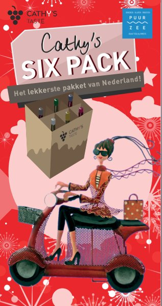 Well of Wine Cathy's Sixpack Editie 6-2017 - Kerst