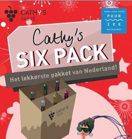 Well of Wine Cathy's Sixpack Editie 6-2017  - Kerst - met Dessertwijn