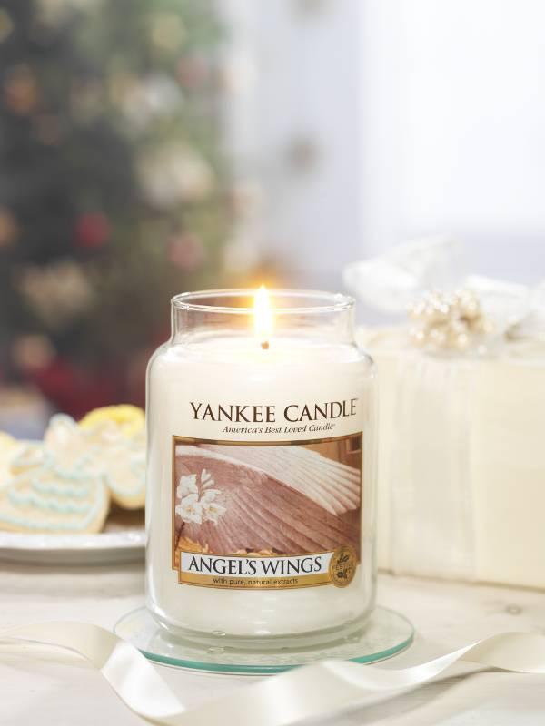 Yankee Candle Yanke Candle Angels Wings Large Jar