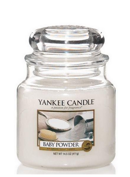 Yankee Candle Yankee Candle Baby Powder Medium Jar